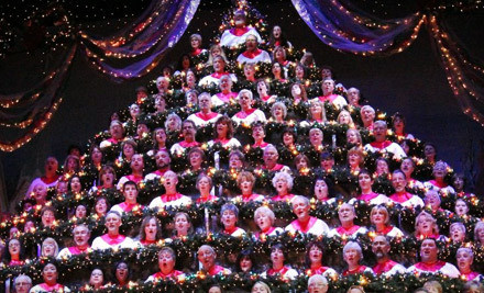 The Portland Singing Christmas Tree at Keller Auditorium