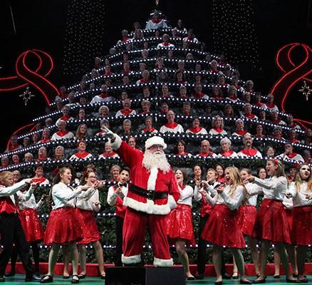 Portland's Singing Christmas Tree at Keller Auditorium