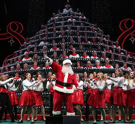 Portland's Singing Christmas Tree at Keller Auditorium