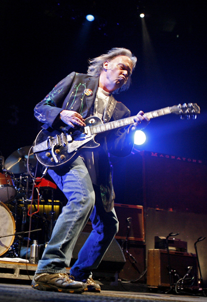 Neil Young at Keller Auditorium
