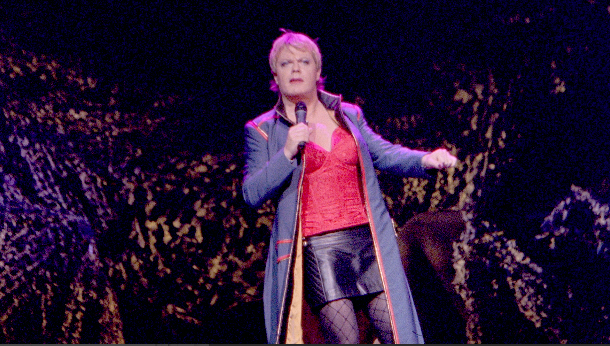Eddie Izzard at Keller Auditorium