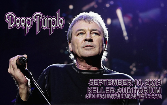 Deep Purple at Keller Auditorium