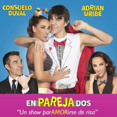 EnParejaDos: Adrian Uribe & Consuelo Duval at Keller Auditorium