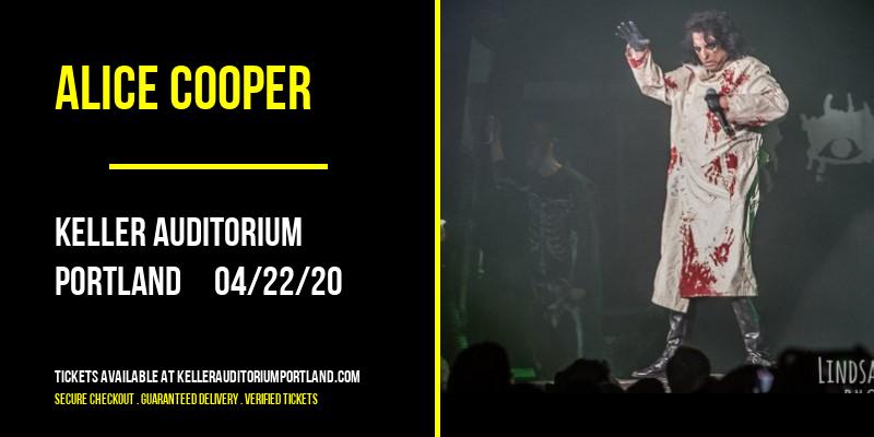 Alice Cooper at Keller Auditorium