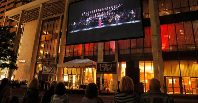 Portland Opera: Big Night at Keller Auditorium