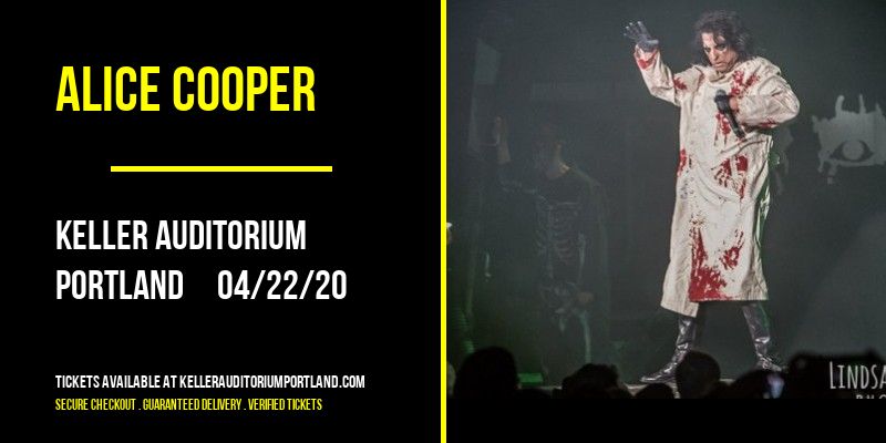 Alice Cooper [POSTPONED] at Keller Auditorium