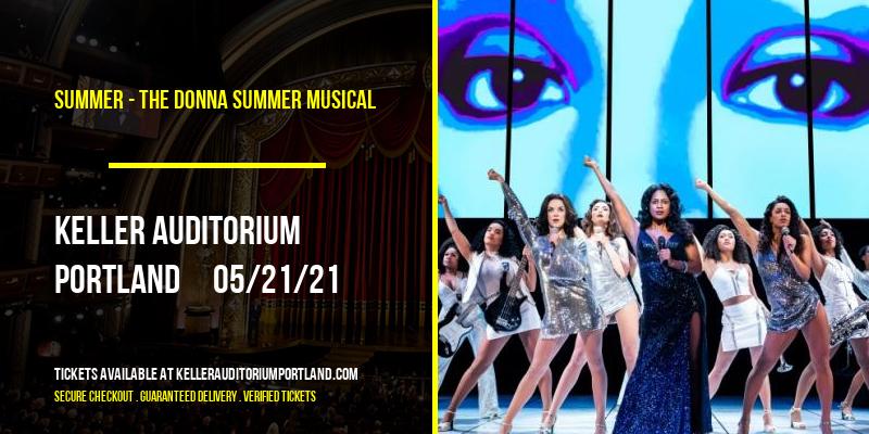Summer - The Donna Summer Musical at Keller Auditorium