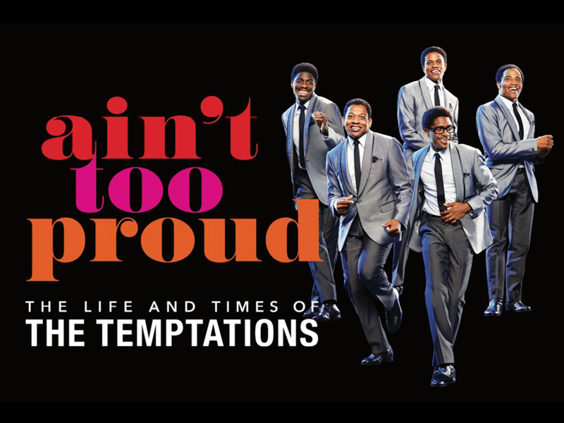 Ain't Too Proud: The Life and Times of The Temptations [CANCELLED] at Keller Auditorium