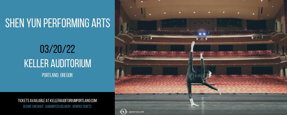 Shen Yun Performing Arts at Keller Auditorium