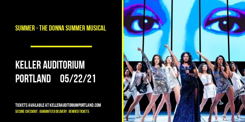 Summer - The Donna Summer Musical [CANCELLED] at Keller Auditorium